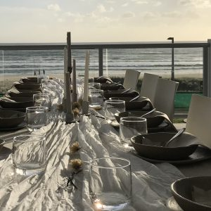 bilinga beach wedding balcony view