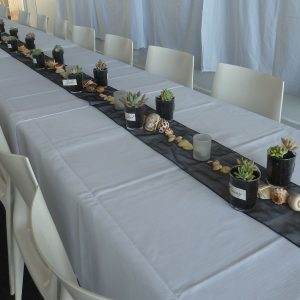bilinga beach wedding simplicity reception